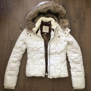 Abercrombie & Fitch fur Hooded Jacket